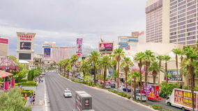 Las Vegas Strip stock video footage