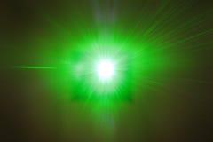 Laser Beam POV Royalty Free Stock Image