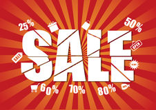 Last chance sale Royalty Free Stock Photos