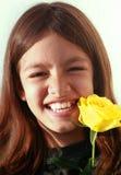Laughing young girl Stock Photos