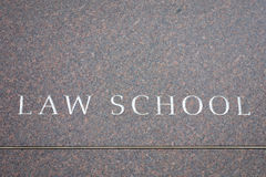 Law School Royalty Free Stock Photography