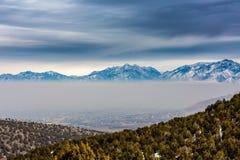 Layer of Smog Stock Image