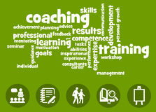 Learning and coaching Stock Photos