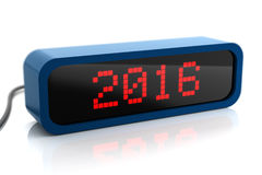 Led display of 2016 year Royalty Free Stock Photography