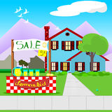 Lemonade stand Royalty Free Stock Photos