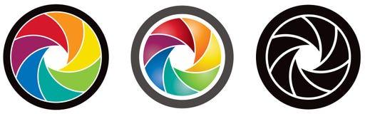 Lens Logo Stock Photography