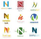 Letter N Logo Royalty Free Stock Photos