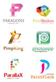 Letter P Logo Stock Photography
