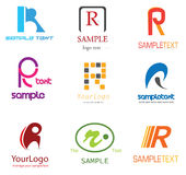 Letter R Logo Royalty Free Stock Images