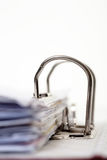 Lever Arch Folder - Office Stationary Stock Photo