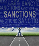 Lfting Sanctions Stock Image