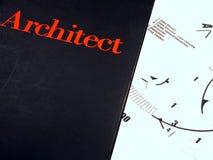 Libro dell'architetto Immagine Stock Libera da Diritti