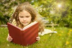 Libro di lettura Fotografia Stock Libera da Diritti