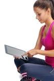 Lifestyle gym app Stock Image