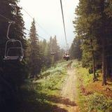 Lift in het bos Stock Fotografie