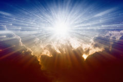 Light from avobe Stock Photography