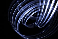 Lightpainting background Royalty Free Stock Photos