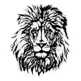 Lion Head Graphic Stock Image
