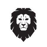 Lion head - vector sign concept illustration. Lion head logo. Wild lion head graphic illustration. Stock Photo