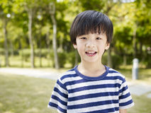 Little asian boy Royalty Free Stock Photo