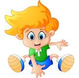 Little boy dance Royalty Free Stock Image