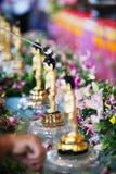 Little Buddha Bath Royalty Free Stock Images