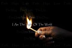ljus värld Arkivfoto