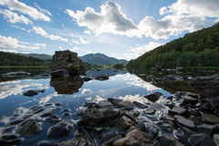 Loch Achray Royalty Free Stock Images