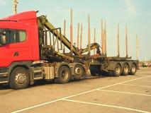 Log Transporter Stock Images