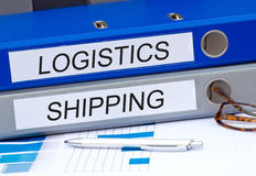 Logistics and shipping Royalty Free Stock Photography