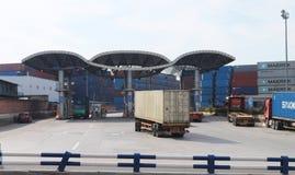 Logistics station Royalty Free Stock Image