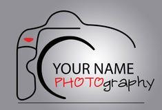 Logo della macchina fotografica Fotografie Stock