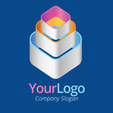Logo and graphic design Stock Images