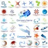Logos collection Royalty Free Stock Photo