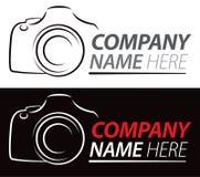 Logotipo de la cámara Imagenes de archivo