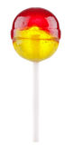 Lollipop with fruit flavour Royalty Free Stock Photo