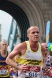 London marathon 2010. Stock Photo