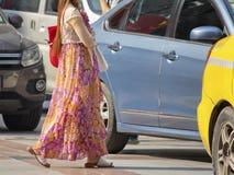 Long skirt Stock Images