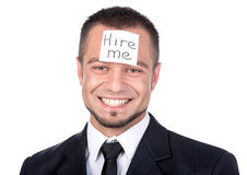 Looking for a job Royalty Free Stock Photography