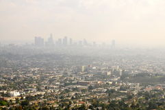 Los Angeles Smog Stock Image