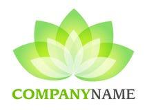 Lotus logo Stock Photography