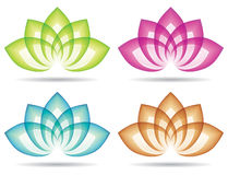 Lotus Logo Stock Photo
