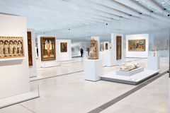 Louvre Lens exposition Royalty Free Stock Photos