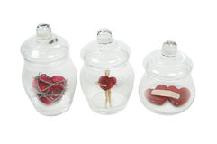 Love Potions for Heartbreak Loneliness, Heartbreak Royalty Free Stock Photo