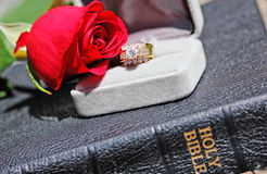 Love and Religion Stock Photos