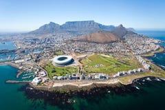 Lucht mening van Kaapstad Royalty-vrije Stock Afbeeldingen
