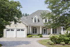 Luxury american house Stock Images