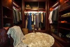 Luxury closet Royalty Free Stock Photography