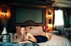 Luxury drinks Stock Photo
