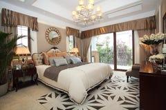Luxury home bedroom Royalty Free Stock Photo